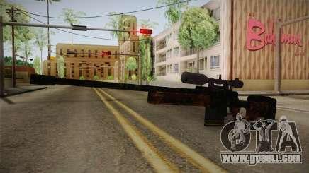 Sniper Estilo Ejercito Mexicano for GTA San Andreas