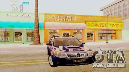 Subaru Forester XT for GTA San Andreas