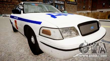Ford Crown Victoria Police DPS for GTA 4