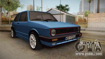 Volkswagen Golf Mk1 GTI for GTA San Andreas