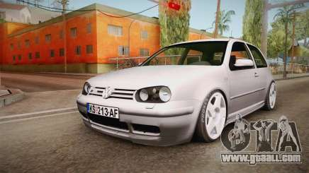 Volkswagen Golf Mk4 GTI for GTA San Andreas