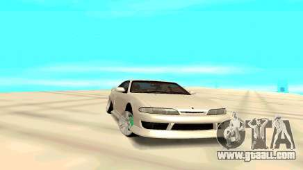 Nissan Silvia White S14 for GTA San Andreas
