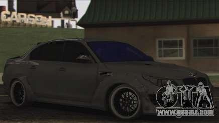 BMW E60 Hamann for GTA San Andreas