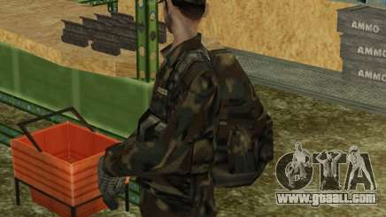 Parachute Military Retexture for GTA San Andreas