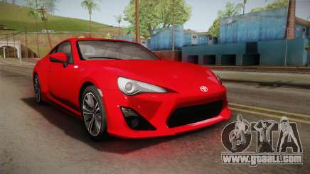 Toyota GT86 2012 Asuka Langley Itasha for GTA San Andreas