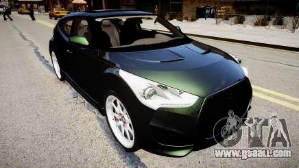 Hyundai Veloster Turbo 2012 vs 2.0 by Mauricio for GTA 4