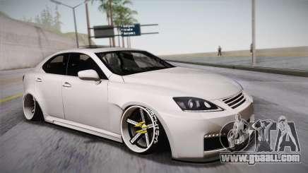 Lexus IS F 2009 Hachiraito for GTA San Andreas