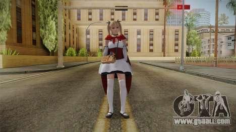 DoA 5: LR - Marie Halloween 2016 for GTA San Andreas second screenshot