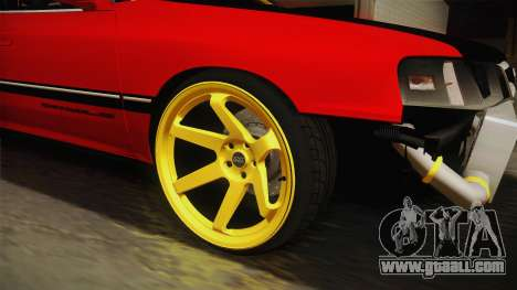 Subaru Legacy RS Drift for GTA San Andreas back view