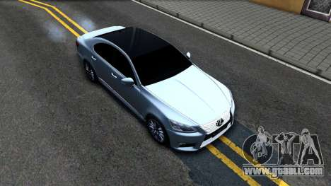 Lexus LS XF40 for GTA San Andreas right view