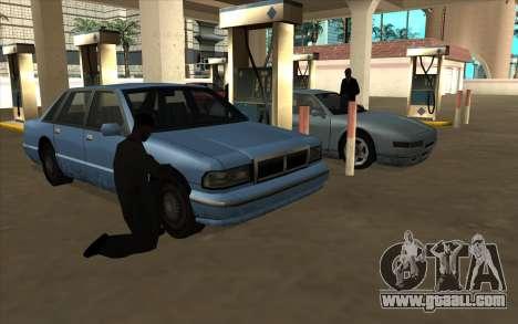 Life situation v6.0 - petrol Station for GTA San Andreas forth screenshot