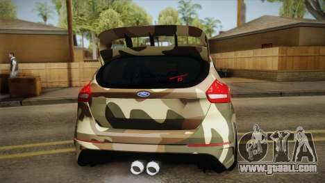 Ford Focus RS 2017 4x4 Drift for GTA San Andreas right view