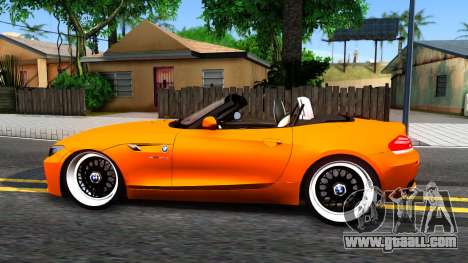 BMW Z4 sDrive35is for GTA San Andreas left view