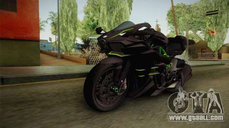 Kawasaki H2 2015 x Z1000 x Diavel for GTA San Andreas
