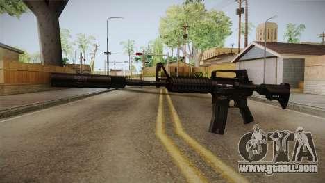 M4A1 Silenced for GTA San Andreas