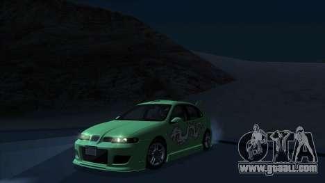 2003 Seat Leon Cupra R Series I for GTA San Andreas right view