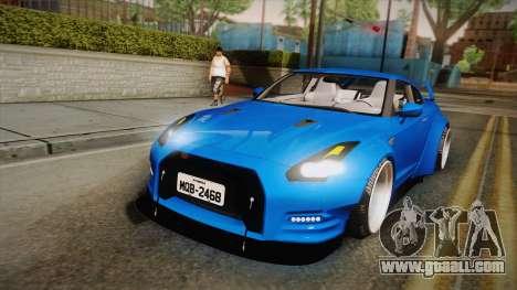 Nissan GT-R Street Race for GTA San Andreas