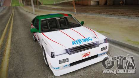 Grottti Blistac Atomic for GTA San Andreas