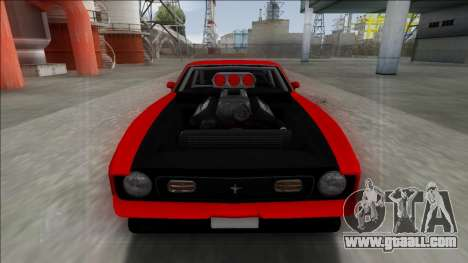 1971 Ford Mustang Drag for GTA San Andreas left view