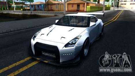 Nissan GT-R R35 Rocket Bunny v2 for GTA San Andreas