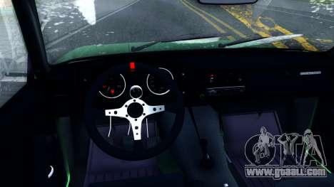 ВАЗ 2105 Winter Drift for GTA San Andreas inner view