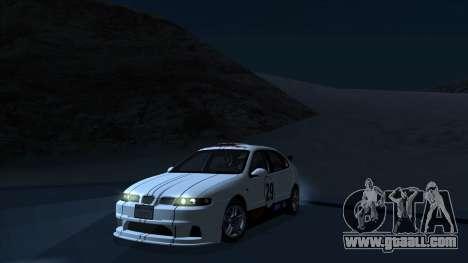 2003 Seat Leon Cupra R Series I for GTA San Andreas upper view