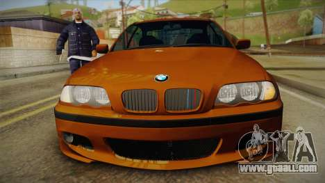 BMW 320i E46 for GTA San Andreas right view