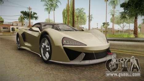 GTA 5 Progen Itali GTB for GTA San Andreas