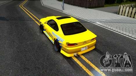 Nissan Silvia S15 Huxley Motorsport for GTA San Andreas back view
