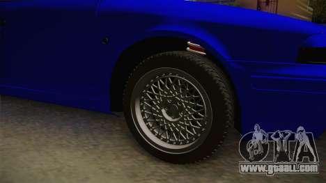 Skoda Octavia Simply Clean for GTA San Andreas back view