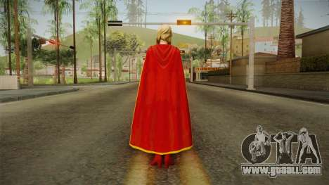 DC Comics Legends - Supergirl for GTA San Andreas third screenshot