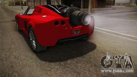 GTA 5 Coil Rocket Voltic IVF for GTA San Andreas interior
