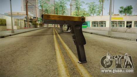 Desert Eagle Gold for GTA San Andreas second screenshot
