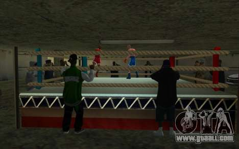 Illegal Boxing tournament 1.0 for GTA San Andreas third screenshot