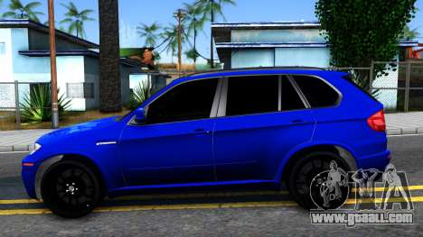 BMW X5M E70 for GTA San Andreas left view