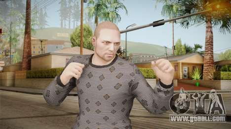 GTA Online DLC Import-Export Male Skin 3 for GTA San Andreas
