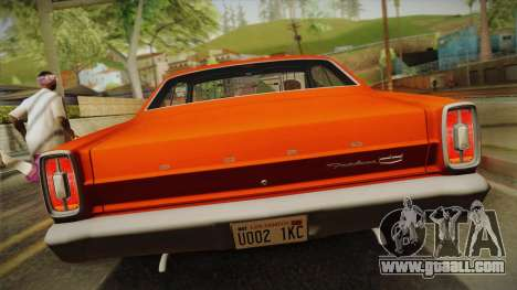 Ford Fairlane 500 1966 IVF for GTA San Andreas right view