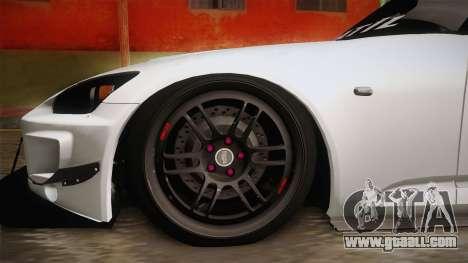 Honda S2000 Katil for GTA San Andreas back view