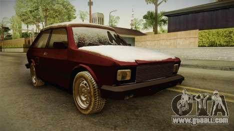 Yugo Koral 55 Winter for GTA San Andreas