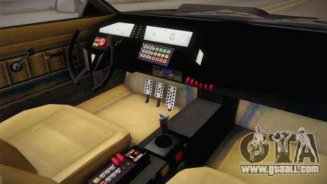 GTA 5 Imponte Ruiner 2000 IVF for GTA San Andreas inner view