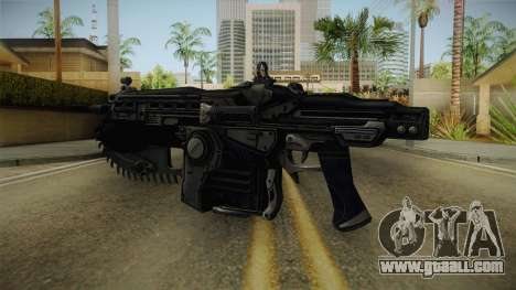 Gears Of War II - Mark 2 Lancer Assault Rifle for GTA San Andreas third screenshot