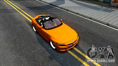 BMW Z4 sDrive35is for GTA San Andreas right view