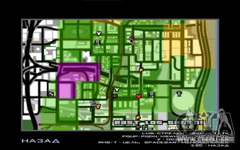 Illegal Boxing tournament 1.0 for GTA San Andreas fifth screenshot