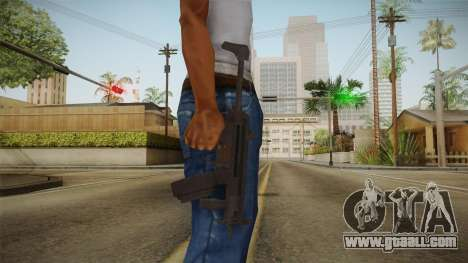 MP-5K Drum Mags for GTA San Andreas third screenshot