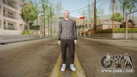 GTA Online DLC Import-Export Male Skin 3 for GTA San Andreas second screenshot
