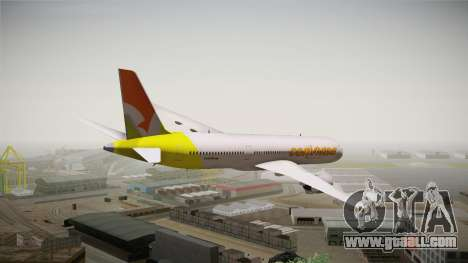 Airbus A350 Conviasa for GTA San Andreas left view