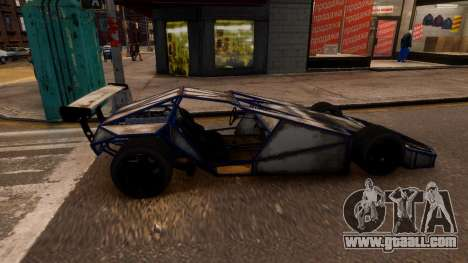 BF Ramp Buggy for GTA 4 left view