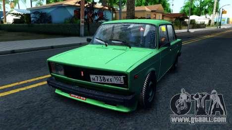 ВАЗ 2105 Winter Drift for GTA San Andreas