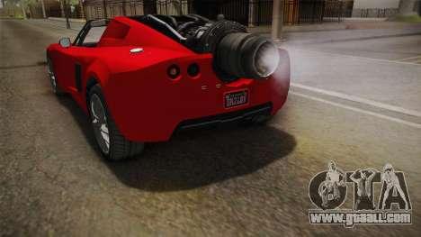 GTA 5 Coil Rocket Voltic IVF for GTA San Andreas engine