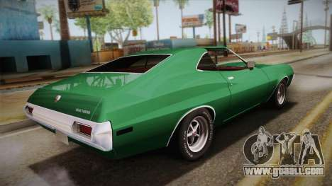Ford Gran Torino 1972 for GTA San Andreas left view